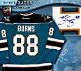Brent Burns Signed San Jose Sharks Teal Reebok Premier Jersey at Amazon.com