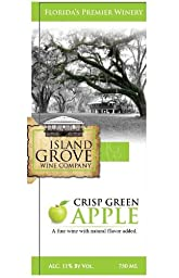 NV Island Grove Crisp Green Apple Wine 750 mL