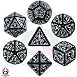 Steampunk Dice Black/White (7 Stk.) Board Game