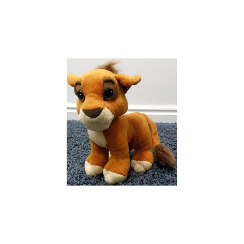5f0c94e6e97 Disney Lion King Simbas Pride 9 Plush Kovu Cub Doll on PopScreen