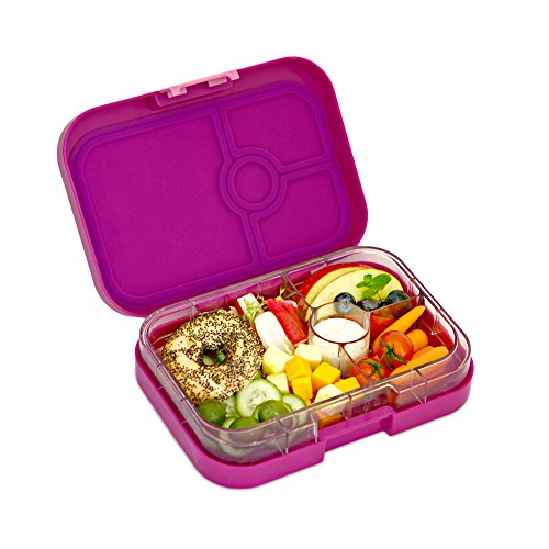 yumbox leakproof bento lunch box container bijoux purple for kids and adult. Black Bedroom Furniture Sets. Home Design Ideas
