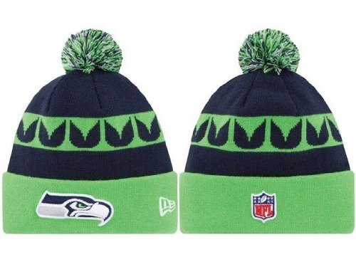 Pixnor® New Arrival NFL National Football League Seattle Seahawks Beanie Woolen Hat Knitted Hat Wool Cap