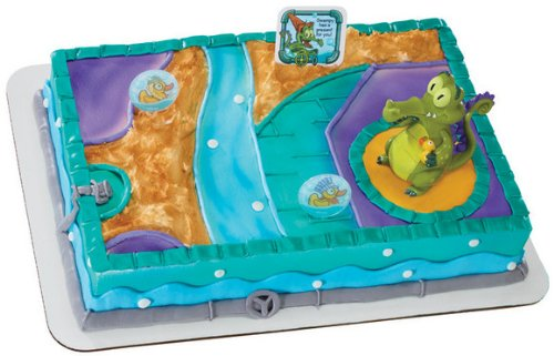Decopac Where's My Water Swampy and Duckies DecoSet Cake Topper - 1