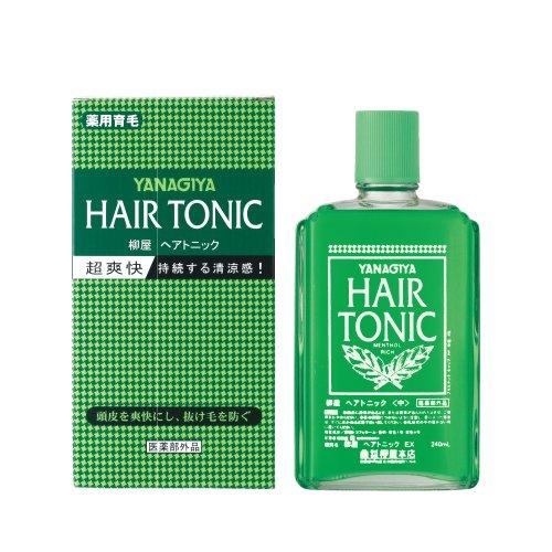 很多人都有脱发的烦恼。用过都说好的日本柳屋药用生发水