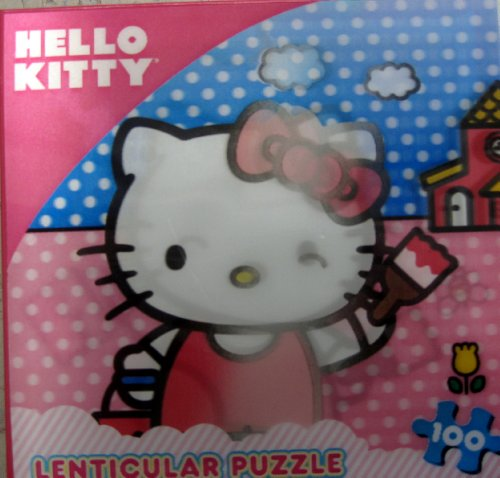 Hello Kitty Puzzle Lenticular 100 Pc by Cardinal
