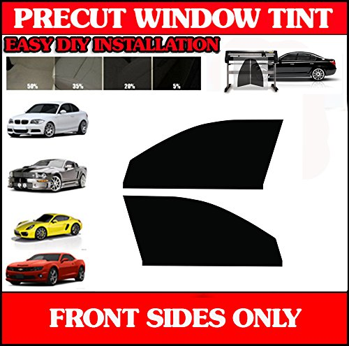 Precut Window Tint Kit Front Side Windows For Dodge Caliber 2007 2008 2009 2010 2011 2012 2013 2014 (Dodge Caliber Window Tint compare prices)