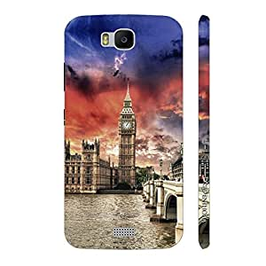 Enthopia Designer Hardshell Case Big Ben Back Cover for Huawei Honor Bee
