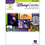 Hal Leonard Disney Greats for Flute Instrumental Play Along Pack Book and CD