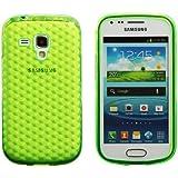 Luxburg® Housse Etui Coque Samsung Galaxy S Duos silicone case TPU Vert émeraude