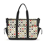 Skip Hop Double Deluxe Duo Wave Dot Changing Bag Twins