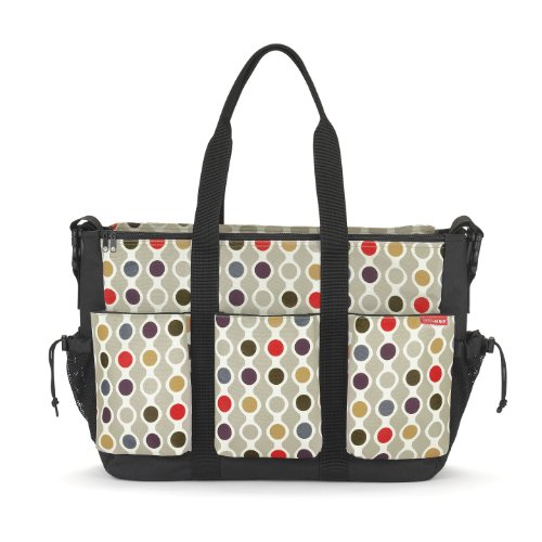Skip Hop Duo Double Diaper Bag, Wave Dot