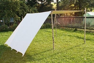 Sonnensegel 2 x 5 m LARP FLY Segel Reenactment Lagerplane Mittelalter Zelt frame tent Ritter von www.zelte-max.de auf Gartenmöbel von Du und Dein Garten