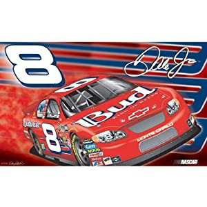 Dale Earnhardt 2-Sided 3 Ft. X 5 Ft. Flag W Grommetts - NASCAR by BSI Products