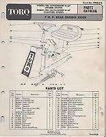 1972 Toro 7 H.p. Rear Engine Rider Lawnm...