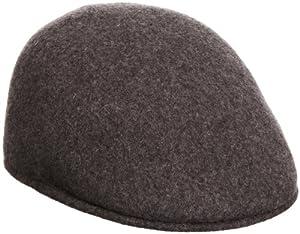 Seamless Wool Flatcap by Kangol (L/58-59 - anthrazit)