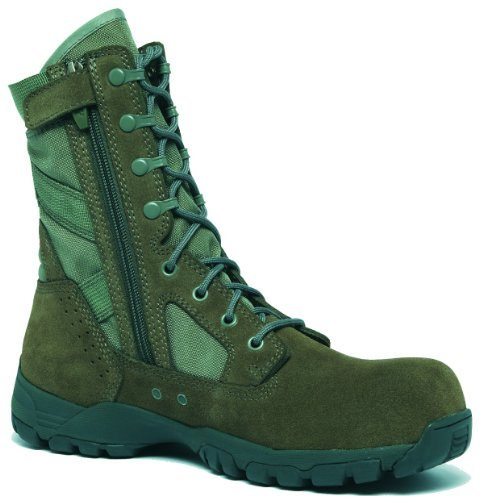 Belleville Flyweight Ultra Lightweight Side-Zip Composite Toe Garrison Boot TR696ZCT - Sage Green CT110R (Side Zip Sage Green compare prices)