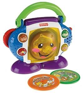 Mattel P2672-0 - Fisher-Price Lernspaß CD-Spieler