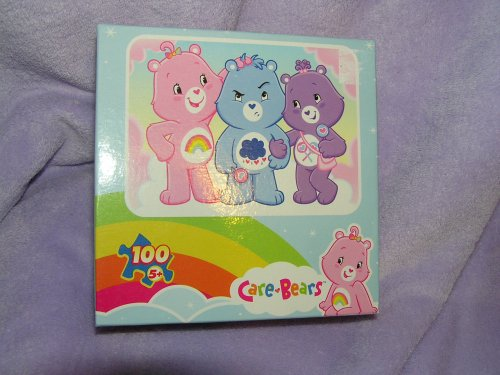 Care Bears 100 Piece Puzzle Share Bear Grumpy Bear Cheer Bear - 1