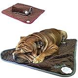 PetLove Thermal Selbstwärmende Decke für Hunde und Katzen Dunkelbraun / Blau S