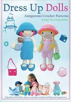 Trendy Hakeln Amigurumi Vol 3 : Dress Up Dolls Amigurumi Crochet Patterns: 5 big dolls ...