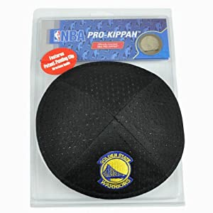 NBA Golden State Warriors Clip Pro Kippah Yamaka Jersey Mesh Licensed Yarmulke by Emblem Source