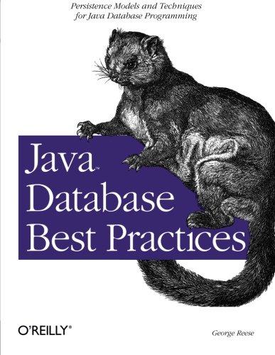 Java Database Best Practices (Classique Us)