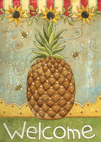 Toland Home Garden Sunflowers And Pineapple Flag 119117