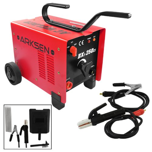 250 Amp 110/220 Volt Coil Ac Arc Welder Welding Machine