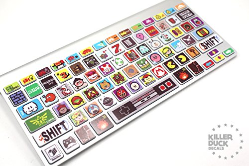 Macbook Keyboard Video Game Skin / Vinyl Decals