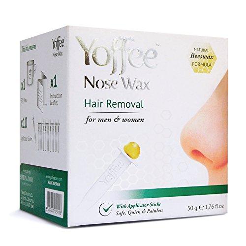 yoffee-nose-wax-kit-depilation-du-nez-a-la-cire-dabeille-naturelle-50g