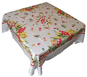 Garden of Veggies Vintage Style Tablecloth