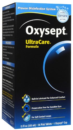 Oxysept Amo UltraCare Disinfecting, Neutralizing & Storage System For Soft Contact Lenses - 1 Ea (12 fl ounces)