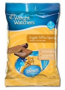 Russell Stover Whitman's Toffee Square Peg Bag, 3.25-Ounce (Pack of 6)