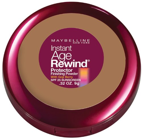 Maybelline New York Instant Age Rewind Protector Finishing Powder, Honey, 0.32 Ounce front-402936