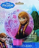 Disney Frozen Anna Plug-in Night Light with Bulb Girls Room