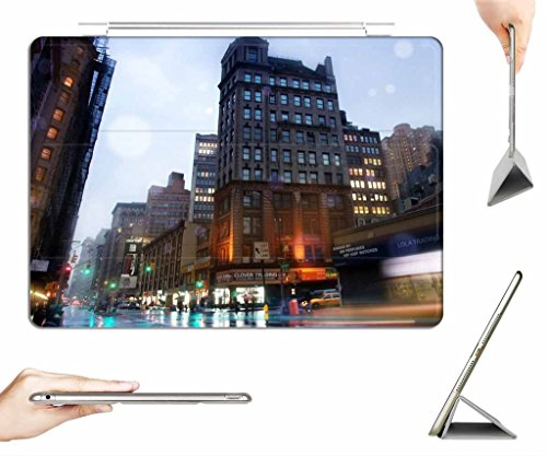 iRocket iPad 2/3/4 Case + Transparent Back Cover, broadway nyc, [Auto Wake/Sleep Function] (Broadway Rain Cover compare prices)
