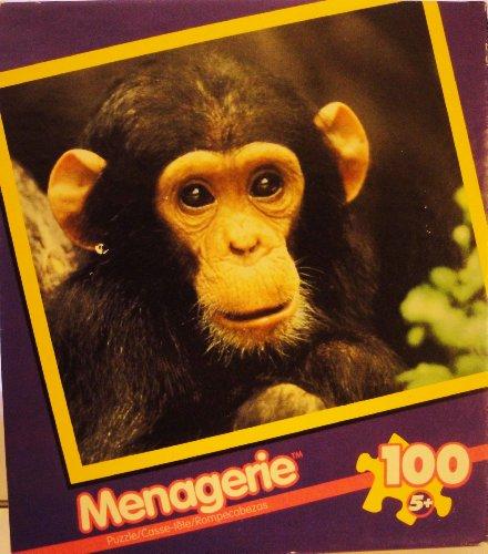 Chimpanzee - 100 Piece Jigsaw Puzzle