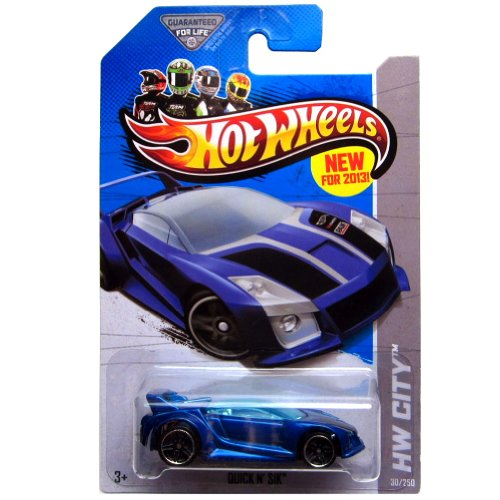 Quick N' Sik '13 Hot Wheels 30/250 (Blue) Vehicle - 1