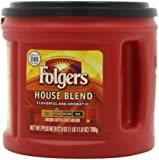 Folgers House Blend Ground Coffee, 27.8-Ounce Packages (Pack of 3)