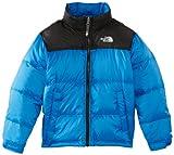 The North Face Boy's B Nuptse Jacket - Nautical Blue, Youth Large