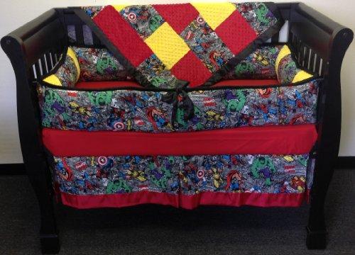Superhero Bedding Twin 9564 front