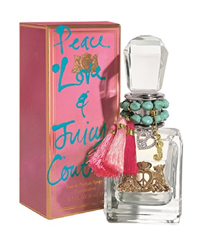 Peace Love And Juicy Couture By Juicy Couture, Eau De Parfum Spray, 3.4-Ounce