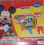 DISNEY JUNIOR MICKEY MOUSE CLUBHOUSE CHILDRENS UNISEZ JAZZ DRUM SET _ SO CUTE