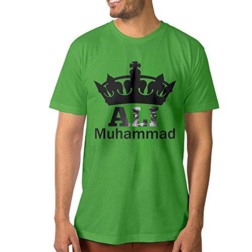 Particular Men's T-shirt Muhammali Crown King Boxer XL KellyGreen