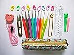 Crochet Hook Set,Ergonomic Grip,Croch...