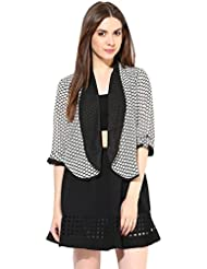Black White Summer Jacket By Magnetic Designs
