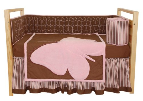 Tadpoles Crib Set, Butterfly Baby, Standard, 4 Piece