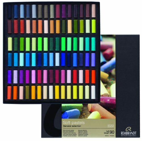 rembrandt-soft-pastel-half-stick-90-color-set-japan-import