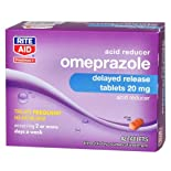 Rite Aid Omeprazole, Acid Reducer Tablets 42 ct.