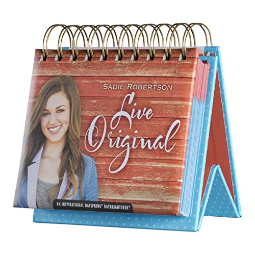 DaySpring Sadie Robertson Live Original, Perpetual Flip Calendar, 366 Days of Inspiration (76306) (Book For 16 Year Old Girl compare prices)